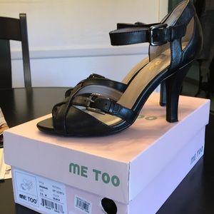 Me Too black heels size 7.5